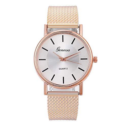 Coconano Reloj De Mujer Exquisito De Gama Alta De Malla Reloj De Mujer De Cuarzo y Piedra Disco Impermeable Para Mujer Reloj