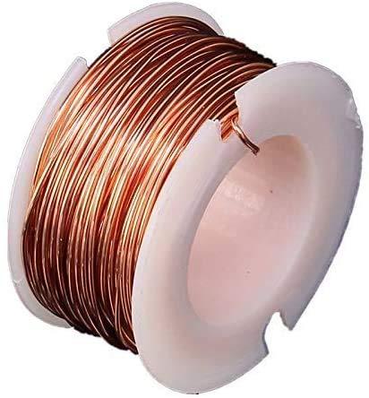 Magnet Draht 0,5 mm Dicke 10 m Länge Kupferlackdraht Magnetspule Wicklung, zur Herstellung eines Elektromagnet-Motormodells