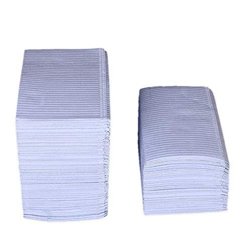 Ssg 125Pcs Absorbent Tattoo Tattoo jetable en tissu Nappe Serviette de nettoyage Pad papier médical étanche Pad Nappe Nouveau (Color : Purple)