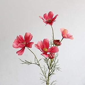 Indoor Artificial Flowers 1pc Artificial Cosmos 6 Flower Living Room Floor Display Fake Flower Wedding Scene Decoration Photography Props