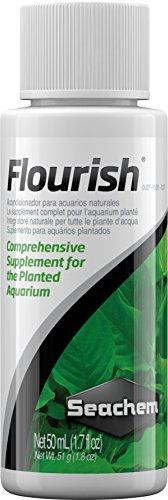 Seachem Flourish Complément pour Plantes d'aquarium – Pack de 25 x 50 ML