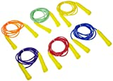 jump rope package - Sportime Jump Ropes, 8 Feet, Assorted Colors, Set of 6 - 1004677