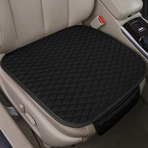 Walking Tiger General Purpose Seat Cushion Car Seat Cover Protective Cover Leather (Black) for Avensis Aygo Chr Hilux Yaris Ateca Ibiza Leon Renegade Compass Wrangler