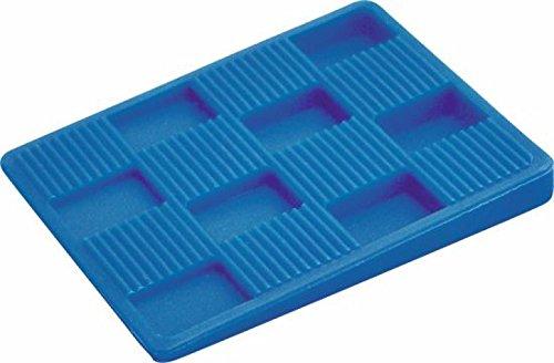 Triuso Kunststoffkeile 5-7x4-5cm- 20 Stück zum Verlegen von Parkett Laminatverlegung Verlegewerkzeug Verlegehilfe