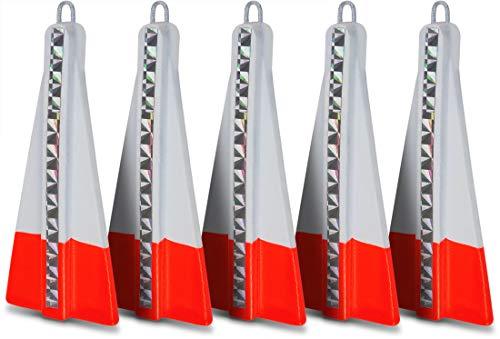 Storfisk fishing & more Heringsgewichte mit Öse für Heringspaternoster als 5er oder 10er Set, Gewichte:60 Gramm, Stück:5 Stück