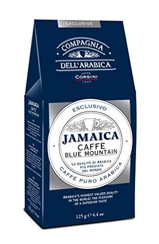Caffè Corsini Compagnia Dell'Arabica Jamaika Blue Mountain Gemahlener Kaffee, 125 g