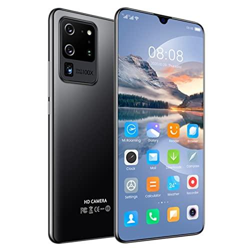 ZRN Teléfono Inteligente Android Desbloqueado, Pantalla V-Notch de 7.1 Pulgadas, teléfono Celular con cámara Triple Trasera AI de 24 MP, 4 GB de RAM + 64 GB de ROM
