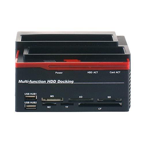 DOCKING STATION TRIPLO TRIPLE 3 HARD DISK 3,5 2,5 DOPPIO SATA 1 IDE HD BOX - Mod. 893U2IS
