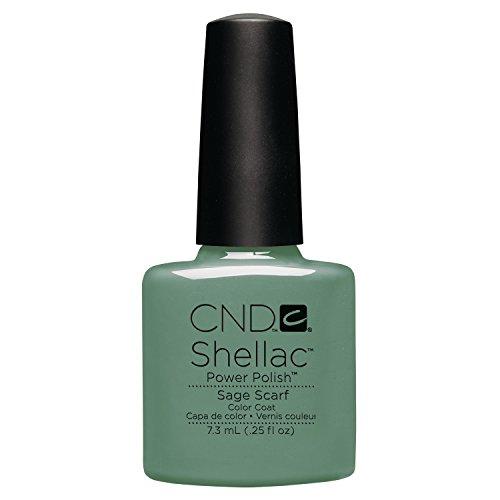 CND Shellac Sage Scarf - 7.3 Ml