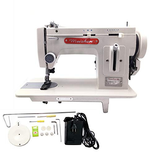 MZ-518 Portable Walking-Foot/Zigzag Sewing Machine - for Sewing and Repairing Thick Materials