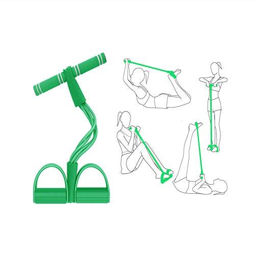 Qualità Premium: la parte principale è realizzata in schiuma ecologica e un tubo in lattice ad alta elasticità, è piena di elasticità, morbida e confortevole, ad alta resistenza alla trazione, di lunga durata, la scelta migliore per la costruzione de...