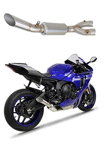 YZF R1 1000 RN32 Exhaust GP3 Supresor eliminador de catalizador DECAT 2015-2016