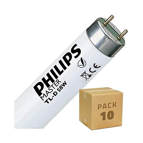 Pack Tubo Fluorescente T8 1500mm Connessione Bilaterale 58W (10 un)
