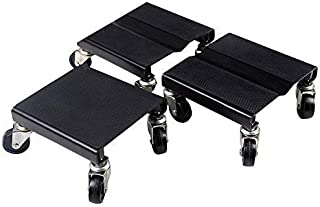 3 PC Snowmobile Dolly Set Snow Mobile Moving Rollers Dollies Movers 1500 LBS