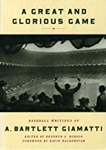A Great and Glorious Game( Baseball Writings of A. Bartlett Giamatti)[GRT & GLORIOUS GAME][Hardcover]