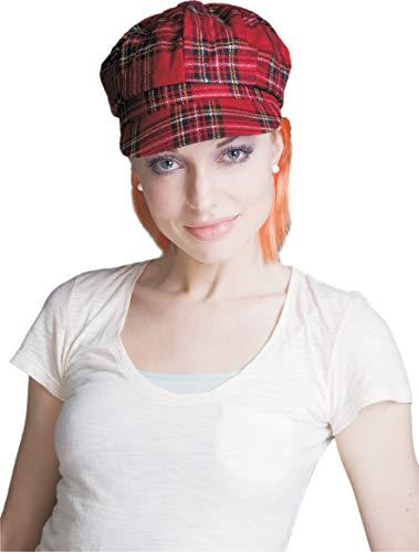 Dress Up America Sombrero Plaid Vendedor de periódicos con Pelo