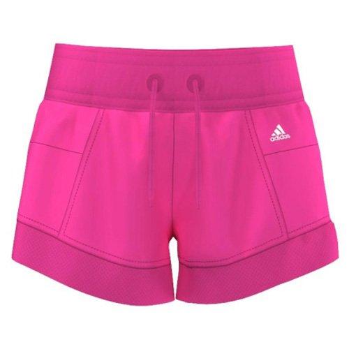 adidas YG W ST W Short - Pantalón Corto para niñas, Color Rosa/Blanco, Talla 140