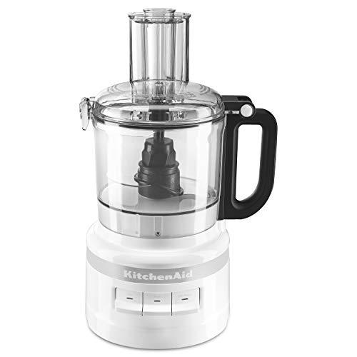 KitchenAid 7-Cup Food Processor KFP0718WH, White