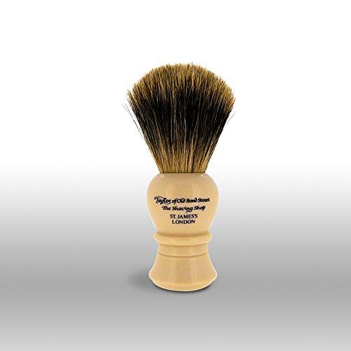 Taylor of Old Bond Mail order Street Medium 11.25cm B Shaving Max 79% OFF Pure Badger