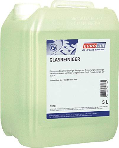 EUROLUB GLASREINIGER, 5 Liter