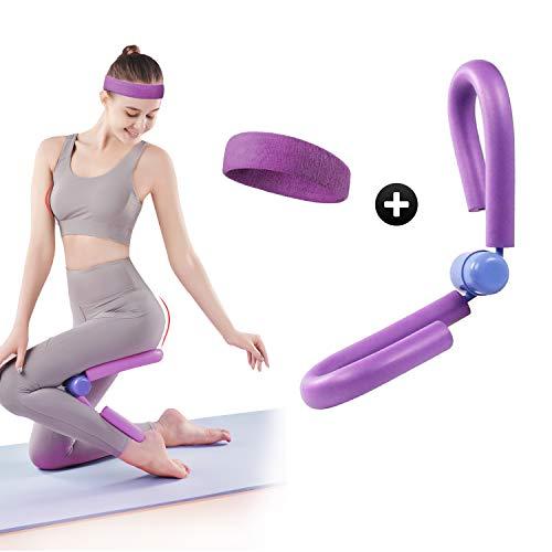RayE Attrezzo multifunzione per allenare le cosce, le cosce, il trimmer per allenare la forza, il leg Trainer per la casa, la coscia, il colore viola
