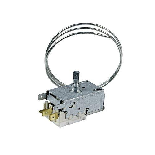 Thermostat Kühlschrank Original Ranco K59-L1942-500 650mm Kapillarrohr 1x4,8mm/2x6,3mm AMP passend Whirlpool 484000008687 Indesit C00385209 bei Ersatz für ATEA auf Kapillarrohrlänge/Anschlüsse achten