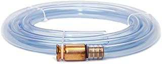 Super Easy Siphon Hose | Self-Priming Water & Liquid Siphon | Manual Syphon | Use On Aquariums, Fish Tanks, Pools | Pump Gas, Fuel & Oil | Safe for Drinking Water | FDA-Grade Clear PVC Tubing | 6ft