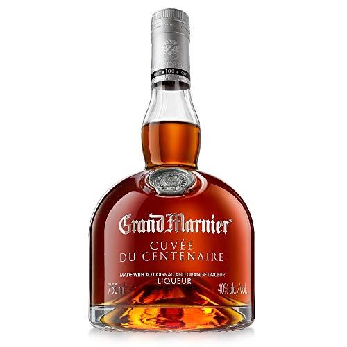 Grand Marnier Cuvèe du Centenaire Miscela di Pregiati Cognac con Note di Arancia Candite, Frutta Secca e Zenzero, 40% Vol, Bottiglia in Vetro da 70 cl