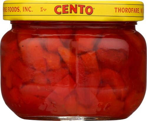 Cento Pimientos Sliced 4.0 OZ (Pack of 2)
