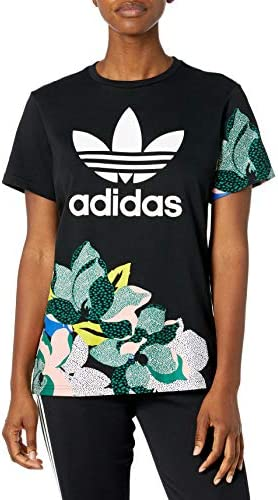 adidas Originals womens Boyfriend Tee Black Medium product image