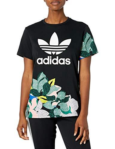 adidas Originals Camiseta de novio para mujer. - negro - X-Small