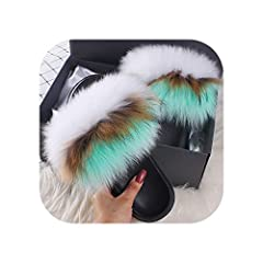 Department Name:Adult,Item Type:Slippers,Upper Material:Faux Fur,Insole Material:EVA Pattern Type:Solid,Outsole Material:EVA,Model Number:AO1740-New,Season:Summer Applicable Place:Outside,Lining Material:NONE,Fit:Fits true to size, take your normal s...