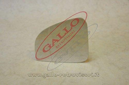 Specchio Retrovisore specchietto esterno - Destro, Solo Vetro con Biadesivo, Asferico, Cromato, Compatibile con BMW RT 850-1100-1150 del 2002