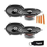 Focal for Ford Bundle - Two Pairs of Focal RCX-570 Auditor Series 5x7 2-Way Coaxial Speakers