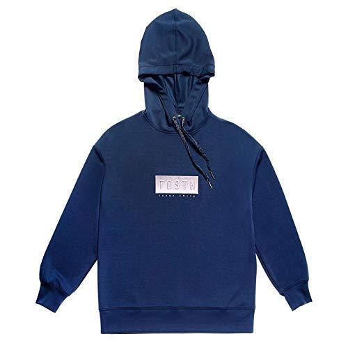 Teddy Smith S- HANAYA Sweatshirt, Total Navy, XS Womens