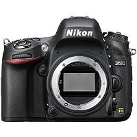 """Nikon D610 - Cámara réflex Digital de 24.3 MP (Pantalla de 3.2""""), Color Negro"""
