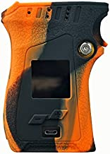 Rayley Modshield for SMOK MAG 225W TC Box MOD Protective Silicone Case Skin Cover Sleeves wrap Decal SMOK Mag Kit (Black Orange)
