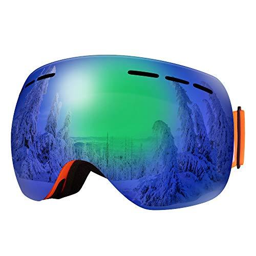 Lunettes de ski anti-buée et coupe-vent