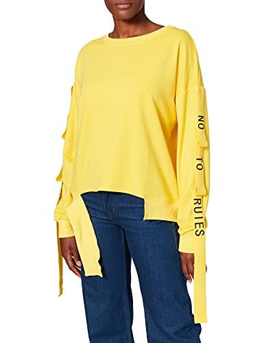 Sudadera amarilla para Mujer