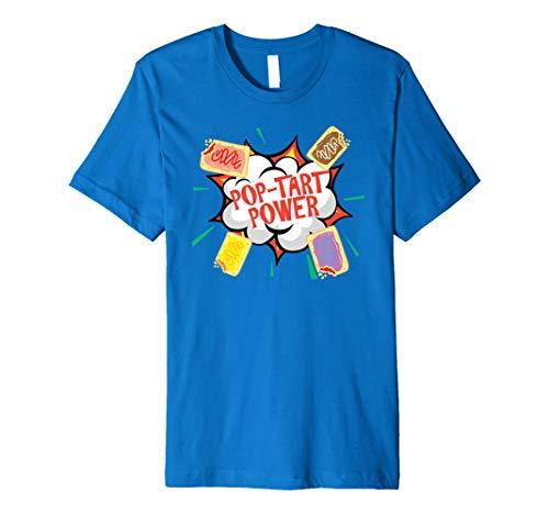 Funny Pop Tart Power, Bodybuilder Gym Pre Workout Premium T-Shirt