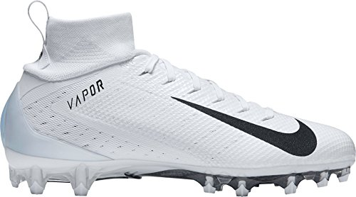 Nike New Mens Vapor Untouchable Pro 3 Football Cleats White/Black Size 16 M