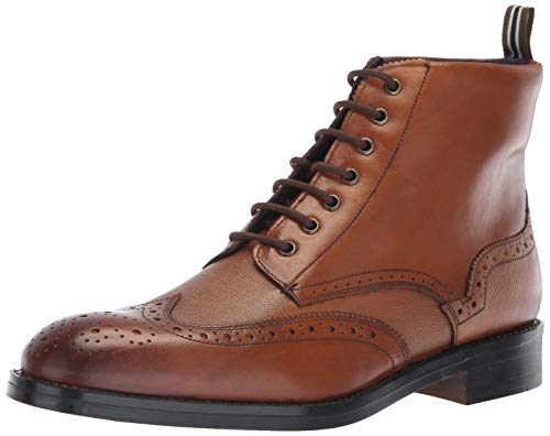 Ted Baker Men's TWRENS Oxford Boot, tan Leather, 10 M US