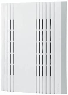 """Broan-NuTone LA107WH Doorbell, Decorative Wired Two-Note Door Chime for Home, 1"""" x 1"""" x 1"""", White"""