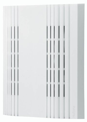 Broan-NuTone LA107WH Doorbell, Decorative Wired Two-Note Door Chime for Home, 1