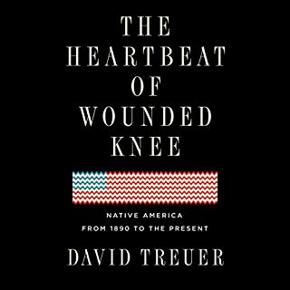 The Heartbeat of Wounded Knee audiobook cover art
