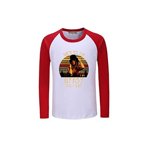 Manga Larga Camiseta De Nuevo a la Gitana Que Estaba impresión de la Letra de la Manga Larga del Ocio Camiseta de Tendencia de la Camiseta cómoda for niños y niñas niños y niñas