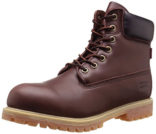 Levis Men's Harrison LE Engineer Boot, Brown, 9 M US