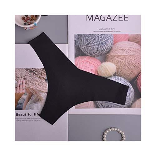 Linyuex Silk bequemer Frauen Thongs String Seamless Panties Female Unterwäsche Tang Panties Flachbauten Wäsche Panty Intimates 1pcs (Color : 25, Size : Large)