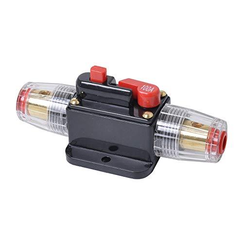 #N/V 30A 40A 60A 80A 100A Coche Camión Audio Amplificador Interruptor de Circuito Titular de Fusible Estilo AGU Amplificador Estéreo Refit Fusible Adaptador