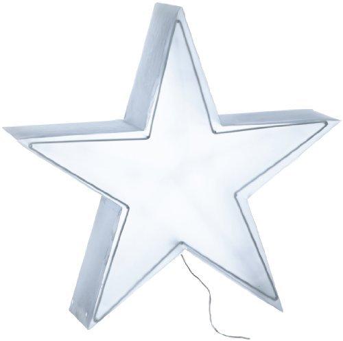 Hellum 568516 Étoile LED 40 cm Lumière blanche chaude 12 LED